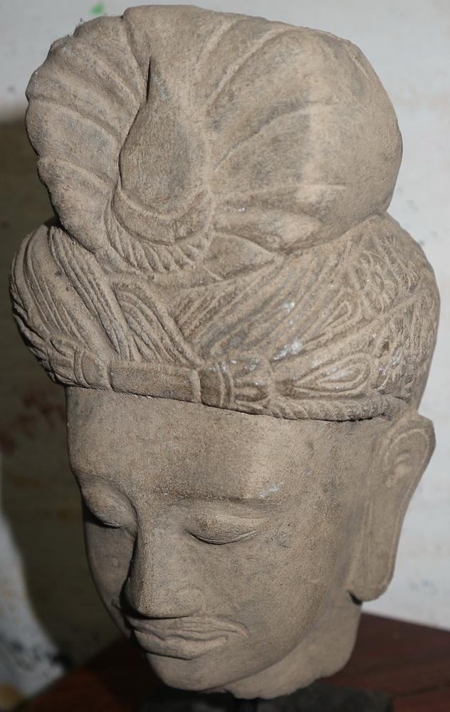 Gandharan Buddha's head