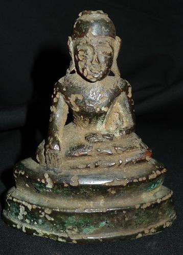 Damaged Buddha
