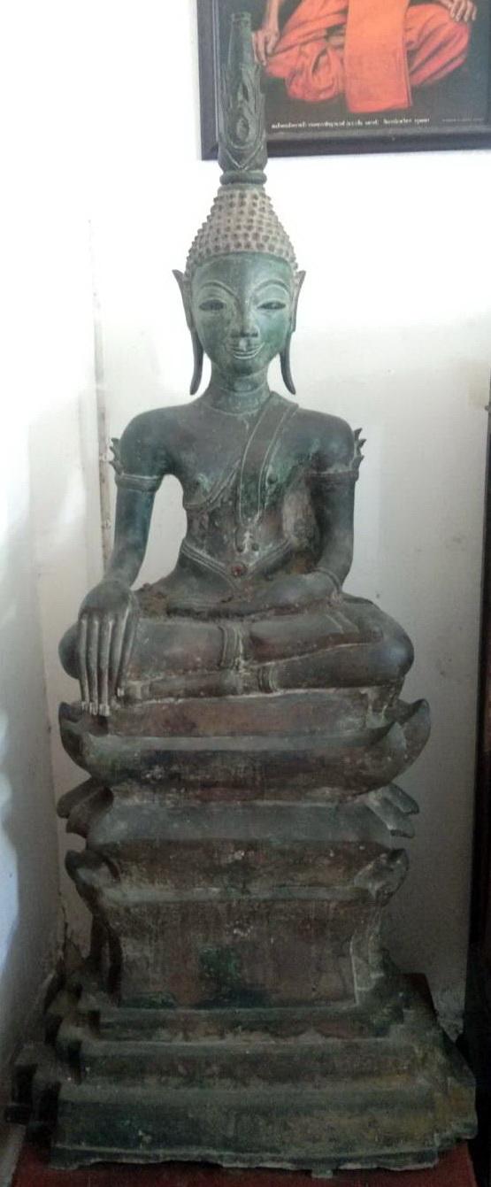 Giant Lao Buddha on base