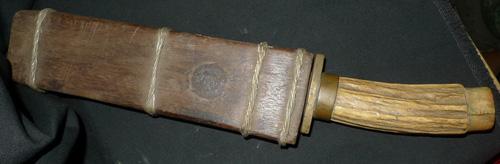 Knife and its sheath