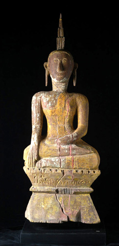 Folk Lao Buddha, located in Europe