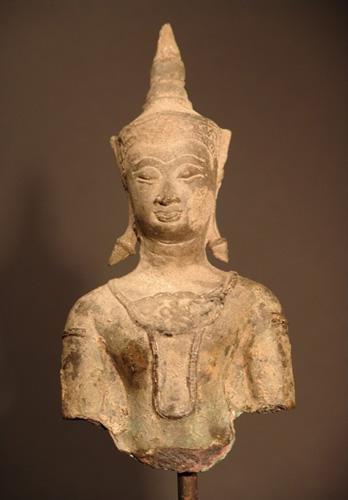 Damaged Ayutthaya Buddha - located in Europe