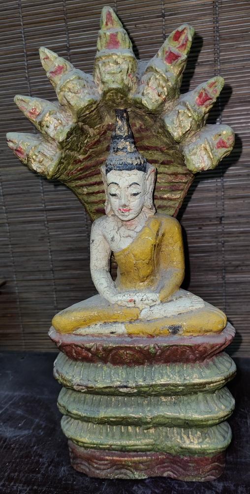Buddha under 7 headed naga