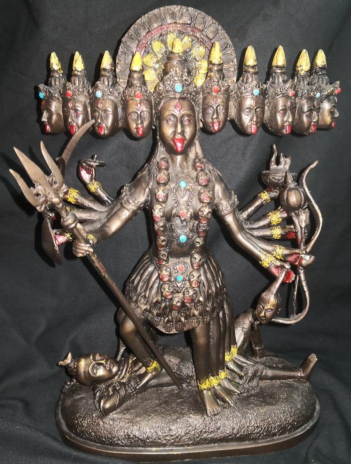 Multi headed vajra yogini