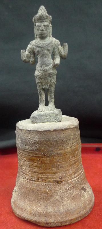 Vishnu Bell Khmer deity