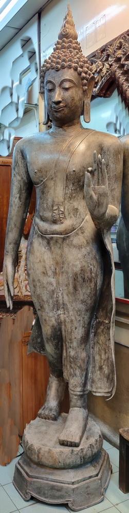 Giant Walking Sukhothai Buddha