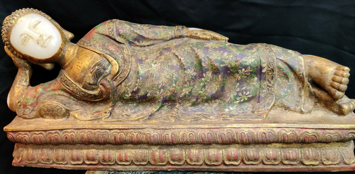 Reclining Indian Buddha