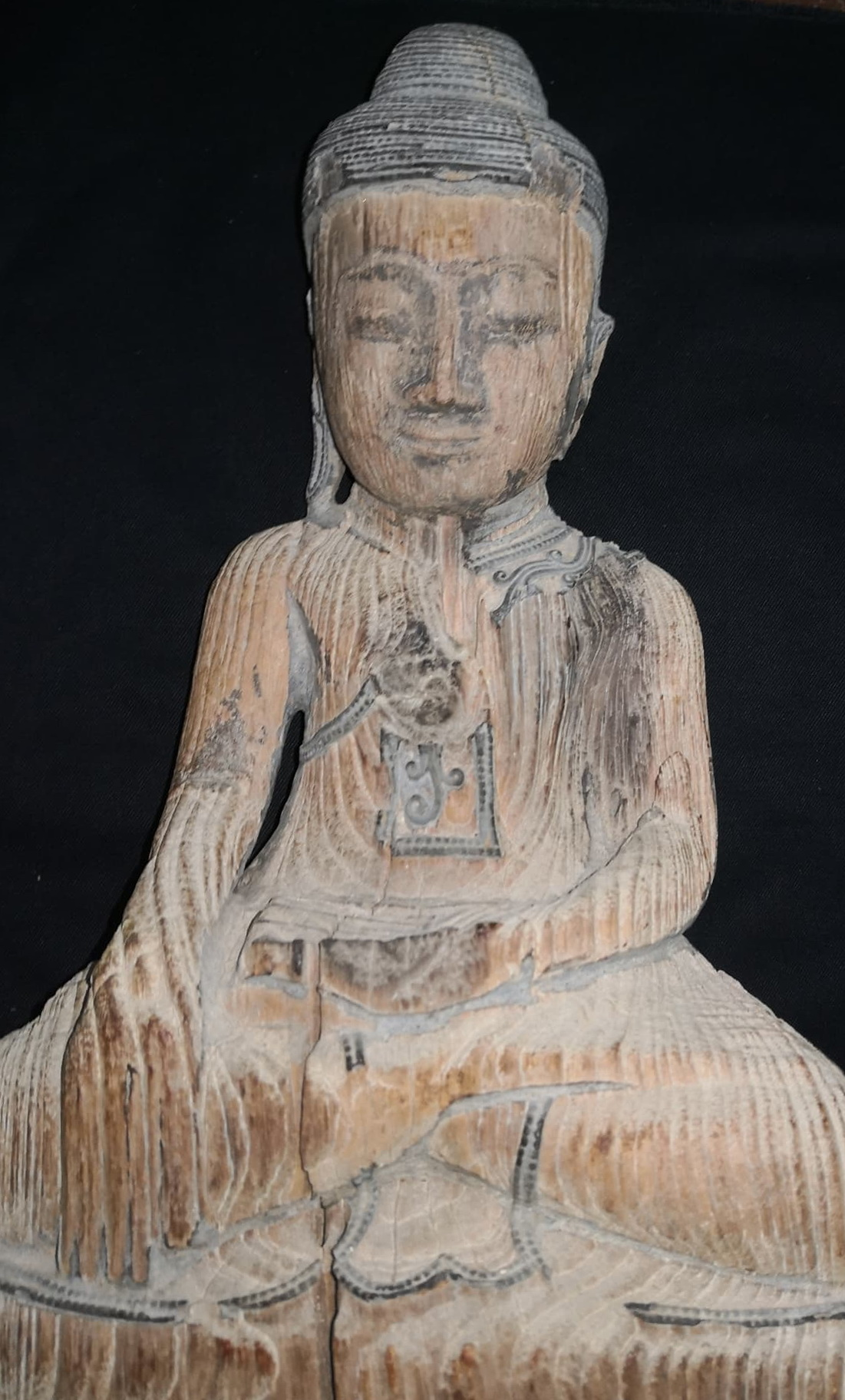 Damaged Mandalay Buddha