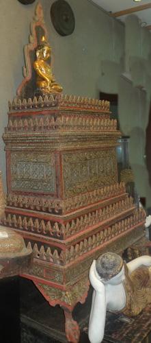 Shan temple shrine