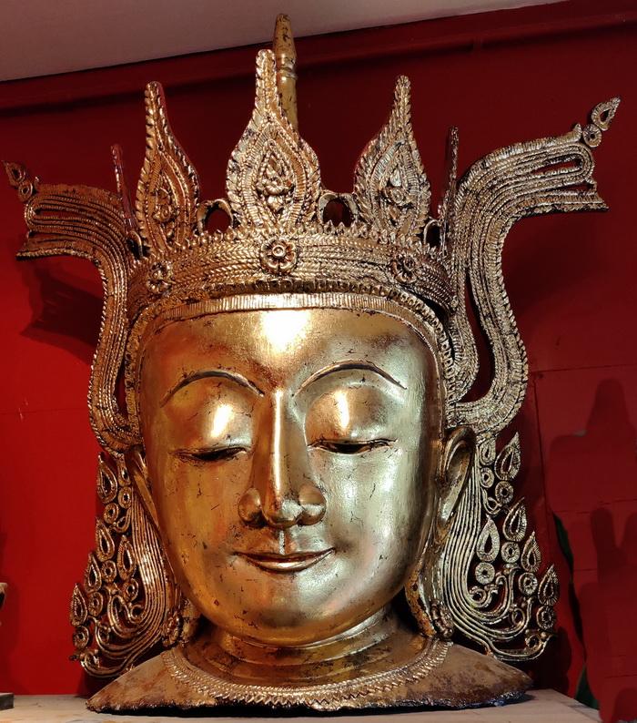 Royal Buddha head