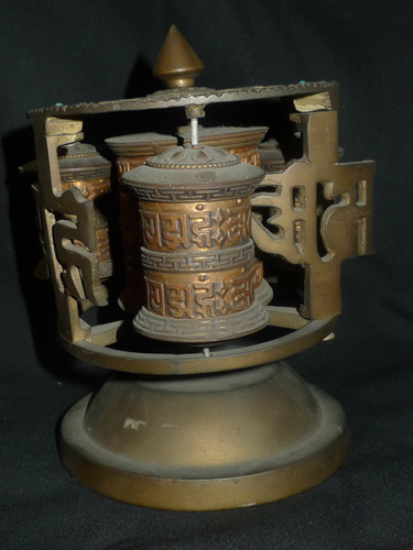 Prayer wheel, combined