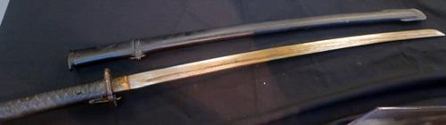 Genuine samurai sword