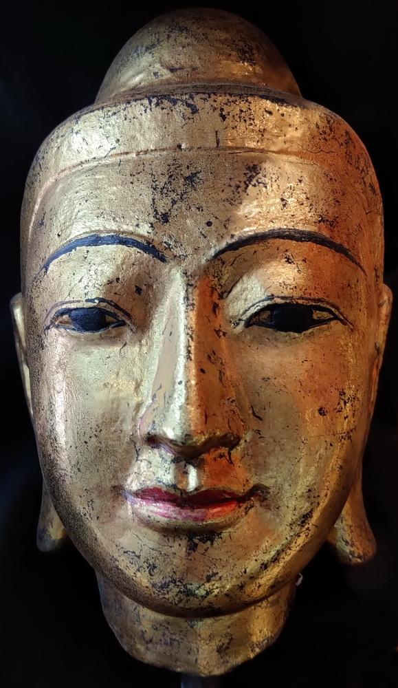 Mandalay Buddha head