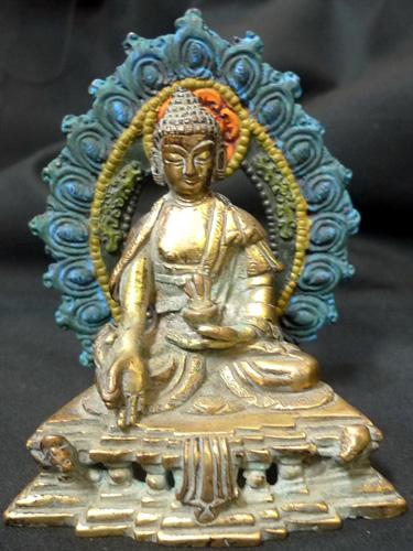 Tibetan Buddha, amulet size