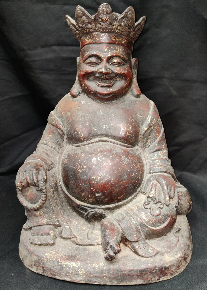 Crowned Fat Monk