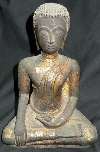 Buddha as a monk