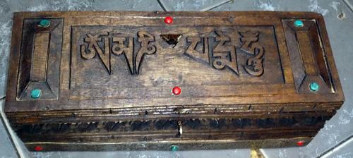 Box for vajrakila or anything else