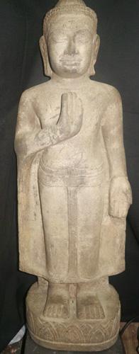 Khmer Bayon Buddha