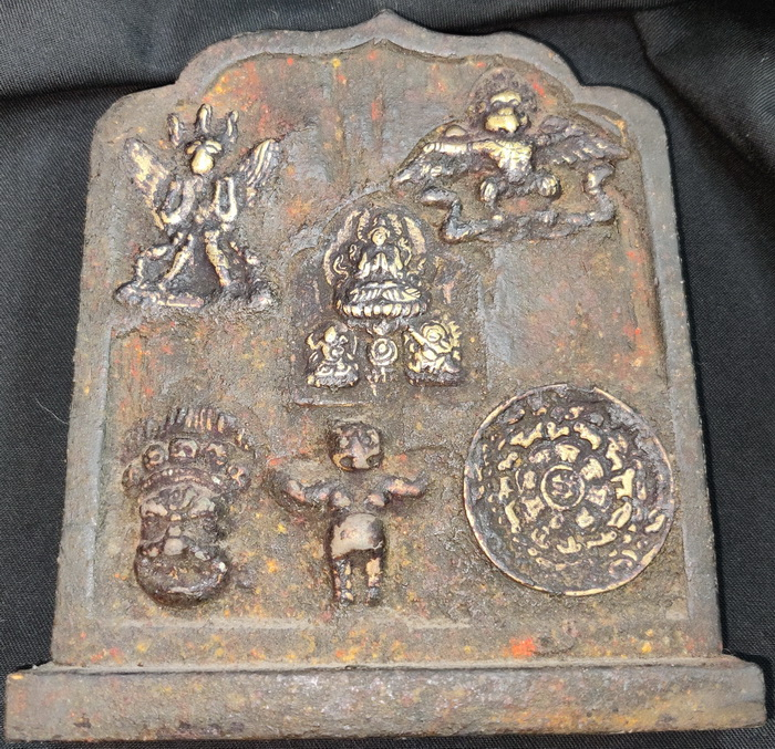 Buddhist votive plaque