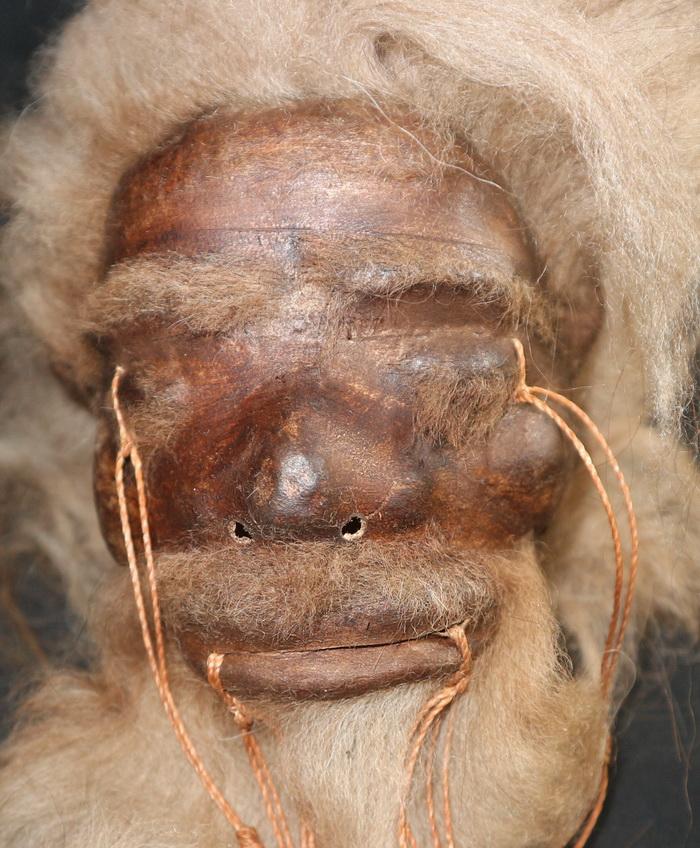 Shrunken head (replica)