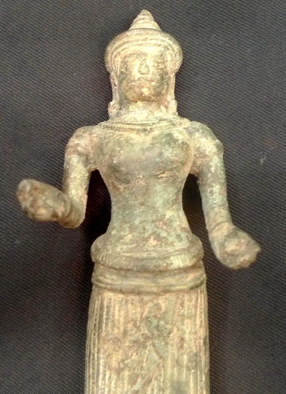 Khmer Vishnu deity