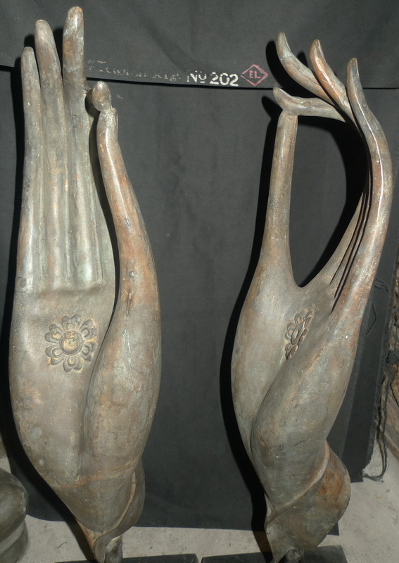 Pair of Buddha's hands