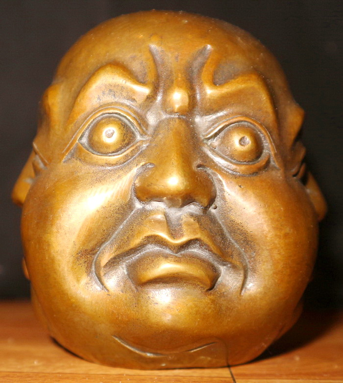 Four faced Chinese man