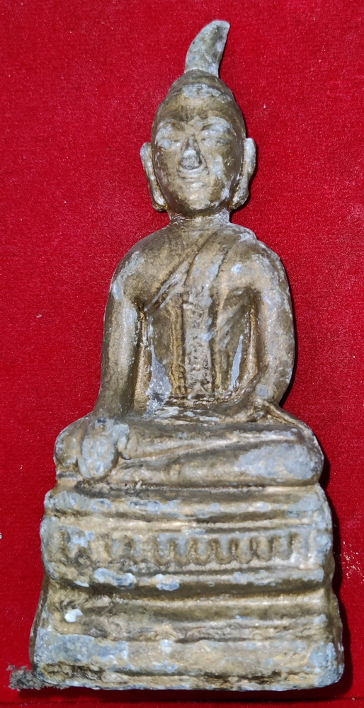 Lao Buddha with strange flame