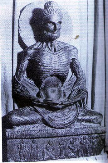 The Emaciated Gandharan Buddha Images